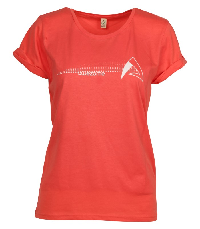 Shirt - Women - Awezome Red